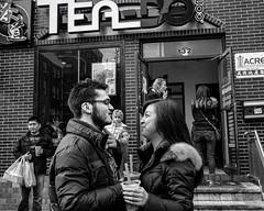 Philadelphia, 2014 (Alan Barr) Tags: street people blackandwhite bw philadelphia monochrome mono blackwhite candid streetphotography olympus sp streetphoto omd 2014 em5 vision:outdoor=0804