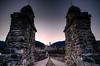 Bobbio (Italy) (Riccardo Maria Mantero) Tags: bridge sunset italy architecture outdoors roman riccardo bobbio mantero anawesomeshot afsnikkor1635mmf4gedvr potd:country=it