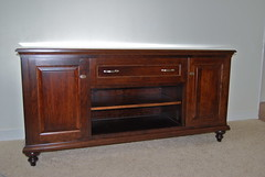 """PW-60-B 65"""" Media Base (Brian's Furniture) Tags: wood cherry media doors glow panel leg x full drawer finish 28 extension behind outer choices custom 18 shelves base dusky available solid raised ends ordered pedestal adjustable pw60b 65lx3234h 34d6 12lx634h"""