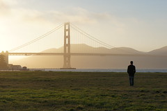 Approaching the Golden Gate Bridge