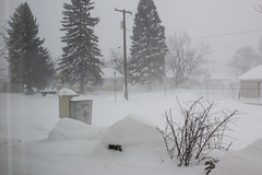 Blizzard '14 (nfg25) Tags: winter snow storm ice car montana nw driving mt stuck wind snowdrift missoula western blizzard condition snowmagedden
