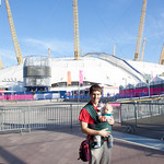 Me & George Outside the North Greenwich Arena