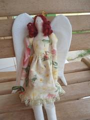 Tilda Princesa Bailarina (GarotaECO Atelie) Tags: floral doll boneca tilda coroa anjo tildabailarina tildaprincesa tildaruiva tildaanjo