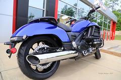 The Blue Valkyrie - 2014 (V-rider) Tags: blue honda photography carolina motorcycle llc ralph cruiser valkyrie sweetride 2014 rhm carolinahonda 2014valkyrieblue