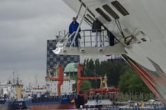 Aida Stella in the port of Rotterdam (Erwin van Maanen.) Tags: netherlands boot rotterdam barco ship nederland holanda maas erasmusbrug wilhelminapier nikond7000 erwinvanmaanen kroonenvanmaanenfotografie aidastella