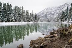 A Mix of Seasons (Jerry Bowley) Tags: river banff bowriver banffnationalpark parkscanada