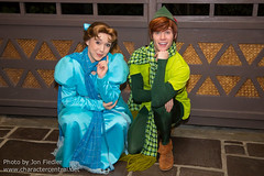 WDW Dec 2014 - Meeting Peter and Wendy (PeterPanFan) Tags: christmas travel winter vacation usa america canon orlando holidays december unitedstates florida character unitedstatesofamerica peterpan disney dec disneyworld christmasparty characters fl heroes wdw waltdisneyworld mk magickingdom adventureland 2014 disneycharacters disneycharacter mickeysverymerrychristmasparty mvmcp holidaytime wendydarling disneyparks canoneos5dmarkiii seasonsholidaysandevents
