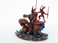 Skull Cannon of Khorne (Uruk's Customs) Tags: world skull blood chaos space cannon warhammer marines throne eaters daemons khorne bloodletters wk40k