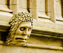 Cara d'ensurt / Fear (SBA73) Tags: uk inglaterra england sculpture c