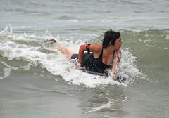 20150124_7138 Bribie Island body board surfer (williewonker) Tags: girl surfer surfboard
