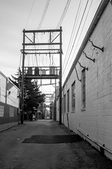 PCAD Alley (severalsnakes) Tags: alley downtown transformer pentax powerlines missouri antenna sedalia k30 access35702535