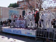 101 Dalmatians (cyclingshepherd) Tags: carnival dogs portugal de avenida parade 101 carnaval algarve february cruelladevil olhao dalmatians olho cruella 2015 vil carnavalinfantil dodiesmith s100fs cyclingshepherd