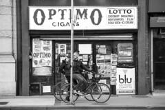 Optimo Duo (O Caritas) Tags: newyorkcity bw newyork manhattan unitedstatesofamerica parkrow january bikes bicycles 2015 nikkor80200mm28ed dsc1239 optimocigars nikond610 22january2015 2015bypatricktpowerallrightsreserved