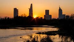 HCM city sunset