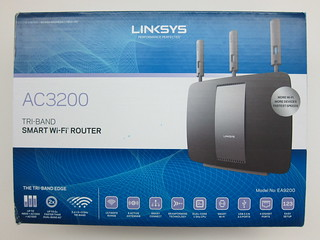 Linksys EA9200 Wireless AC3200 Tri Band Smart Wi-Fi Router