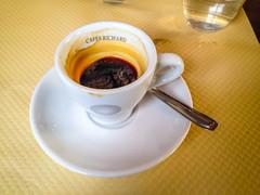 Espresso Coffee (Serendigity) Tags: city paris france coffee caf drink montmartre espresso
