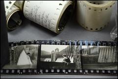 35mm Film Contact Print Paper Rolls (02) (Hans Kerensky) Tags: film 35mm paper print with kodak dam 1938 holes reservoir german rolls contact agfa 1939 1937 sprocket stausee panatomic isopanf