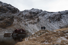 Viewing Balea Lake Chalet (podimerlin) Tags: mountain snow ice romania transfagarasan leicaq