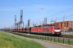 DBC 189 030-0 & 189 039-1, Rotterdam 13-05-2016 (frank_e186) Tags: rotterdam db cargo 64 es f4 trein spoor 189 039 dbc 030 e189 ertstrein havenspoorlijn dubbeltractie es64f4