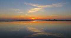IMG_0014x (gzammarchi) Tags: italia mare nuvola alba natura sole paesaggio ravenna riflesso lidodidante