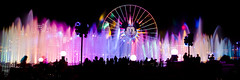 World of Color (dr_stan3) Tags: longexposure nightphotography light water disneyland anaheim californiaadventure worldofcolor