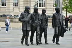 Meet The Beatles (18mm & Other Stuff) Tags: england liverpool nikon statues cruiseship gb johnlennon thebeatles d7200 pierheaduk