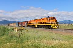 Snowden, California (UW1983) Tags: california trains local corp snowden railroads centraloregonpacific hornbrookhauler