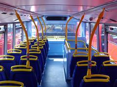 GAL MHV17 - BU16OZE - INTERIOR - BV BUS GARAGE - THUR 28TH APR 2016 K (Bexleybus) Tags: bus london ahead volvo interior garage go egyptian belvedere bv bodywork mcv goahead evoseti mhv17 bu16oze