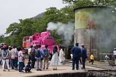 Pink SL at Wakasa Railway (14) (double-h) Tags: sl tottori jnr steamlocomotive c12   eos6d  ef2470mmf4lisusm  pinksl wakasarailway  c12 c12167 wakasastation classc12 c12 sl