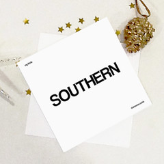 southern christmas cutie card (rethinkthingsltd) Tags: baby white smart children design kid diverse adult unique free tshirt parry pride southern lgbt statement strong local northern fit typographic able ilsa rethinkthings