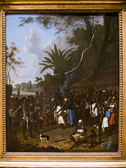 Dirk Valkenburg | Slave Play on a Sugar Plantation in Surinam | 1706-08. National Gallery of Denmark, Copenhagen Hello, I really like your blog, maybe I got something for you to post: While visiting the National Gallery of Denmark at Copenhagen last yea (medievalpoc) Tags: people art history netherlands dutch america happy south douglass guyana slavery submission dirk racist myth 1700s slave frederick valkenburg surinam enslaved chattel devaluation medievalpoc