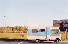 Algarve (annnna*) Tags: blue summer green film portugal pentax caravan algarve caravana sagres pentaxspotmatic portugaldonorteasul
