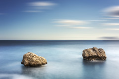 Two Rocks (canonixus1) Tags: sunset atardecer lee hitech rocas vanguard calpe filtros largaexposicion canon1740 firecrest longexposoure canon6d portafiltros canonixus1