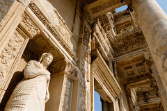 Arete (Moral Virtue) (_Codename_) Tags: statue architecture turkey library columns virtue ephesus arete libraryofcelsus