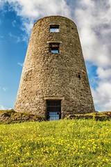 Cleadon Mill (Explored 26.5.16...thanks !) (robinta) Tags: sky colour building windmill architecture clouds landscape pentax vibrant ruin historic explore ks1 cleadon inexplore tamron18250mm
