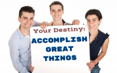 Make It Your Destiny To Accomplish Great Things. (lieforly14319) Tags: blogger aruna kumar