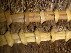 Stitches for Witches (fstop186) Tags: cane witch magic olympus bamboo cleaning stitches thatch bristles binding sweeping em1 broomsticks olympusmzuiko60mmf28macro stitchesforwitches
