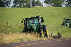 D6060_CM-142 (MoDOT Photos) Tags: green rural heavyequipment colecounty mowers centraldistrict modot safetygear bycathymorrison d6060