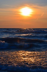 Water9-1 (lee_siegel1) Tags: sunset tower beach nature water beautiful fun sand lifeguard lifeguardtower grandbend