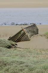 NO WATER (skysthelimit333) Tags: wood boat lancashire woodenboat sailingboat sailingcraft glassondock