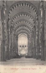 Nef de la basilique Sainte-Marie-Madeleine, Vzelay, Yonne, Bourgogne. (Only Tradition) Tags: france frankreich frana frankrijk francia franca 89 franciaorszg  frana
