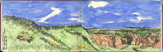 Snow Canyon State Park - St. George, Utah (Matthew-1) Tags: usa pencil utah sketch sketchbook watercolour stgeorge carnetdevoyage watercoloursketch pleinairsketch desertsouthwestusa