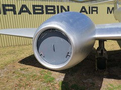 """Gloster Meteor T.7 13 • <a style=""""font-size:0.8em;"""" href=""""http://www.flickr.com/photos/81723459@N04/27296117701/"""" target=""""_blank"""">View on Flickr</a>"""