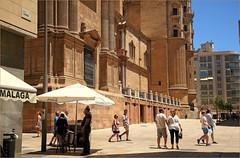 Cathedral de la Encarnacion, calle Postigo de los Abades, Malaga, Andalucia, Espana (claude lina) Tags: claudelina espana spain espagne andalucia andalousie malaga architecture cathedraldelaencarnacion cathdrale