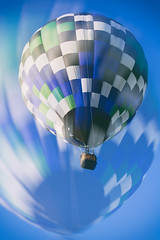 Into The Blue Above (matthewkaz) Tags: blue sky colors balloons michigan balloon hotairballoon hotairballoons howell balloonfest 2016 michiganchallenge