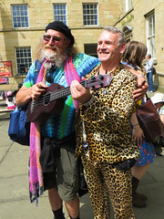 Festival characters (Ali-Berko) Tags: festival ukulele may 2016 project365 gnuf