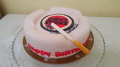 ashtray cake (Divine Cakes Iloilo) Tags: birthday cakes cake dc cafe divine lucky ash tray strike iloilo roxas fondant bakeshop