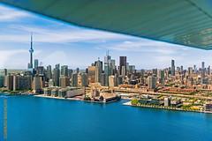Incentivereise Toronto (Edi Bhler) Tags: lake toronto canada airplane see cntower wing ausflug flugzeug geschft flgel 2470mmf28 nikond5 2016toronto