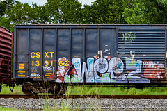 (o texano) Tags: bench graffiti texas houston trains weez dts d30 mayhem freights wyse a2m wge benching defthreats adikts