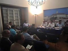 Reunião Comissão Coordenadora Autárquica com CPD Coimbra